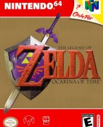 Capa de The Legend of Zelda: Ocarina of Time