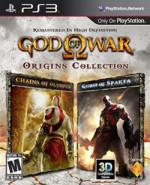 Capa de God of War Origins Collection