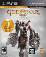 Capa de God of War Saga