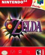 Capa de The Legend of Zelda: Majora's Mask