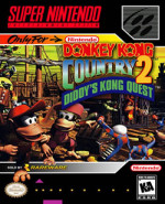 Capa de Donkey Kong Country 2: Diddy's Kong Quest