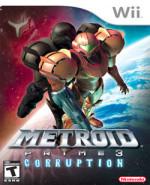 Capa de Metroid Prime 3: Corruption