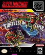 Capa de Teenage Mutant Ninja Turtles IV: Turtles in Time