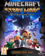 Capa de Minecraft: Story Mode