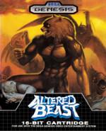 Capa de Altered Beast
