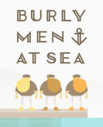 Capa de Burly Men at Sea