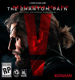 Capa de Metal Gear Solid V: The Phantom Pain