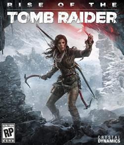 Capa de Rise of the Tomb Raider