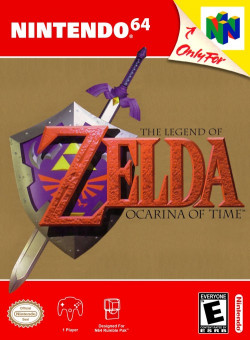 Capa de The Legend of Zelda: Ocarina of Time