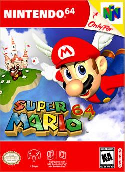 Capa de Super Mario 64