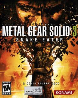 Capa de Metal Gear Solid 3: Snake Eater