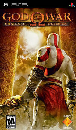 Capa de God of War: Chains of Olympus