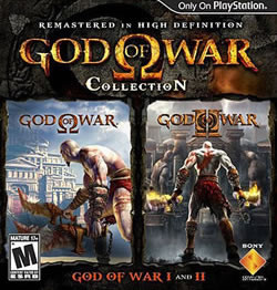 Capa de God of War Collection