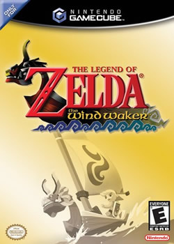 Capa de The Legend of Zelda: The Wind Waker