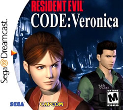 Capa de Resident Evil CODE: Veronica