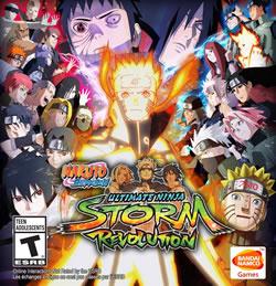Capa de Naruto Shippuden: Ultimate Ninja Storm Revolution
