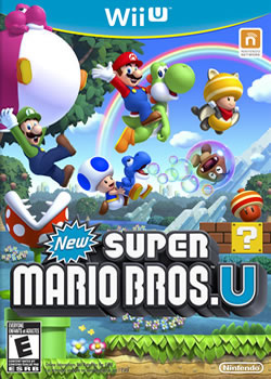 Capa de New Super Mario Bros. U
