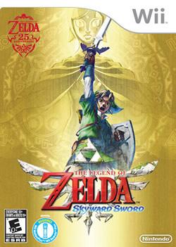 Capa de The Legend of Zelda: Skyward Sword