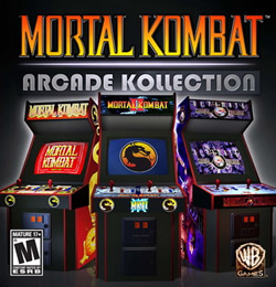Capa de Mortal Kombat: Arcade Kollection