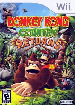 Capa de Donkey Kong Country Returns