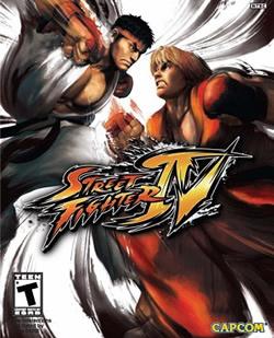 Capa de Street Fighter IV
