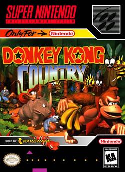 Capa de Donkey Kong Country