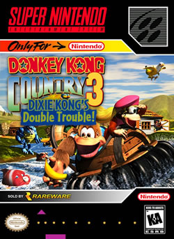 Capa de Donkey Kong Country 3: Dixie Kong's Double Trouble!