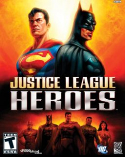 Capa de Justice League Heroes