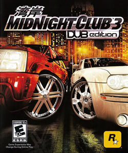 Capa de Midnight Club 3: DUB Edition