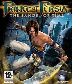Capa de Prince of Persia: The Sands of Time