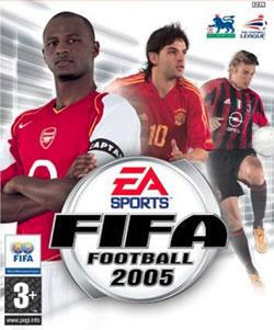 Capa de FIFA Football 2005