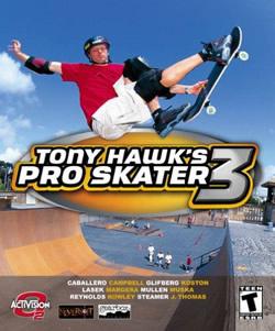 Capa de Tony Hawk's Pro Skater 3