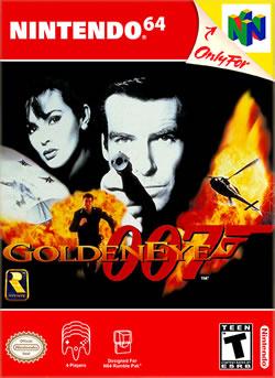 Capa de GoldenEye 007