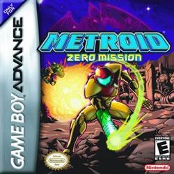 Capa de Metroid: Zero Mission