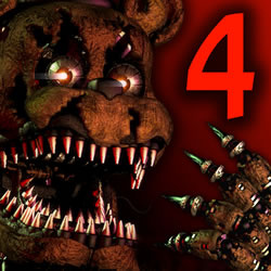 Capa de Five Nights at Freddy's 4