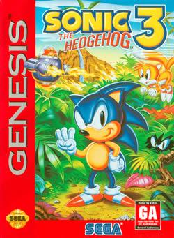 Capa de Sonic the Hedgehog 3