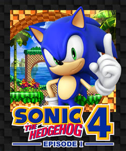 Capa de Sonic the Hedgehog 4: Episode I