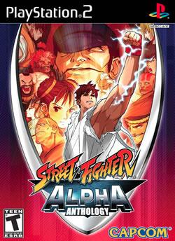 Capa de Street Fighter Alpha Anthology