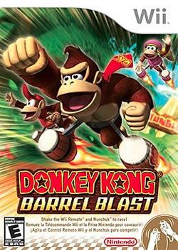 Capa de Donkey Kong Barrel Blast