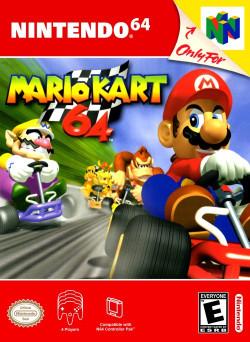 Capa de Mario Kart 64