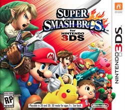 Capa de Super Smash Bros. for Nintendo 3DS