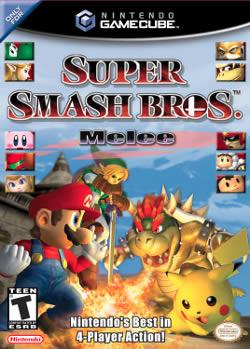 Capa de Super Smash Bros. Melee