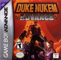 Capa de Duke Nukem Advance
