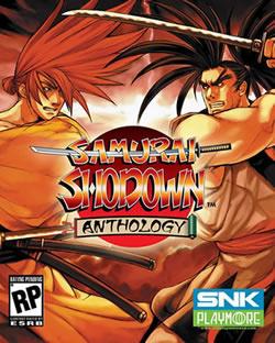 Capa de Samurai Shodown Anthology