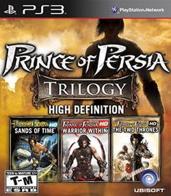 Capa de Prince of Persia Trilogy