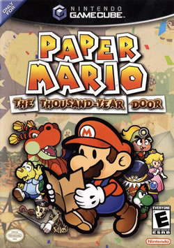 Capa de Paper Mario: The Thousand-Year Door