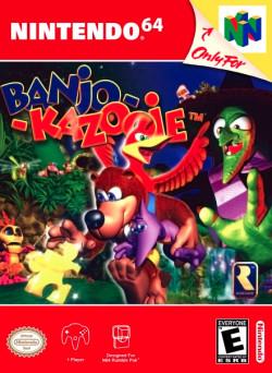 Capa de Banjo-Kazooie