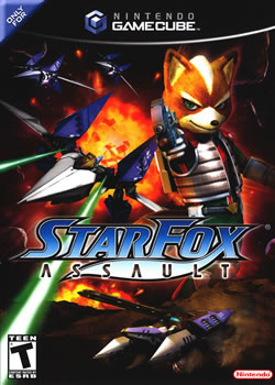 Capa de Star Fox: Assault