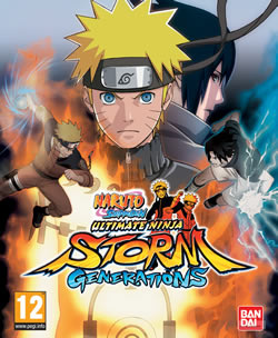Capa de Naruto Shippuden: Ultimate Ninja Storm Generations