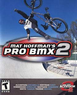 Capa de Mat Hoffman's Pro BMX 2